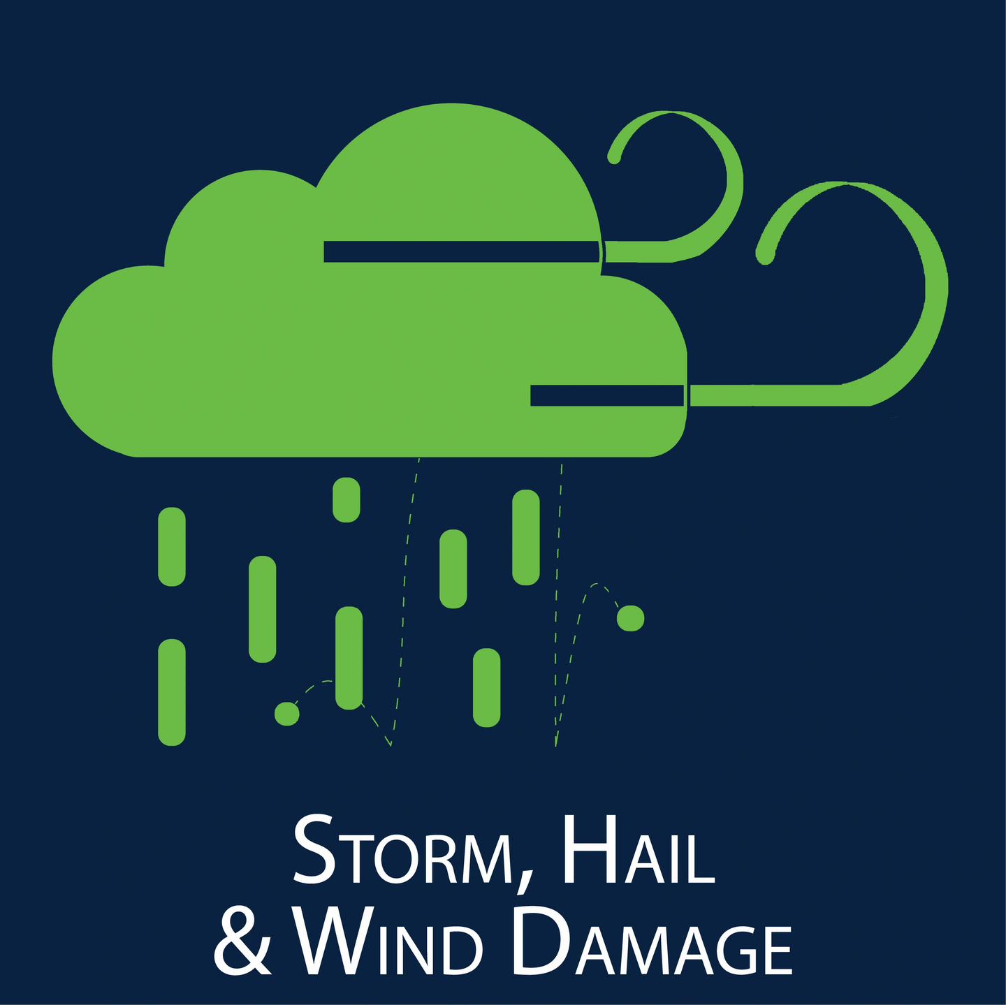 storm hail wind damage claim